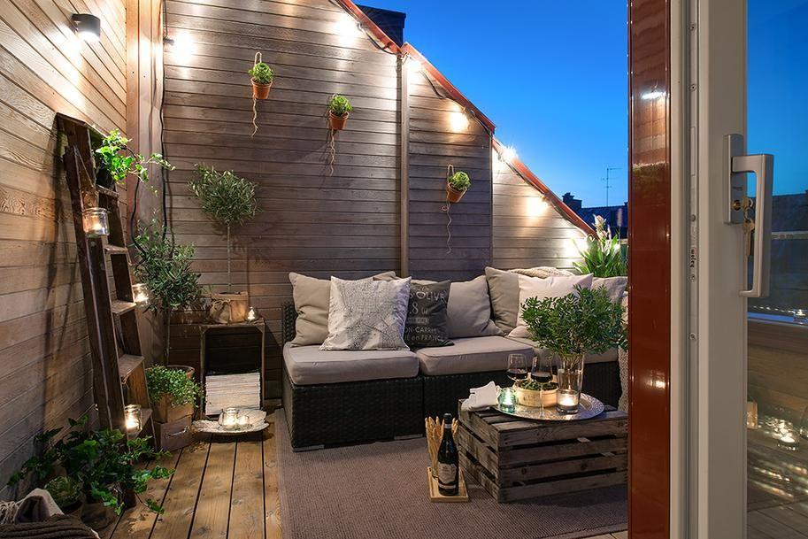De bonnes idées pour décorer une terrasse urbaine en été