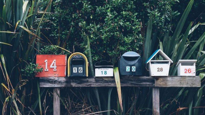 Plaque boite aux lettres : avoir son nom sur sa boîte