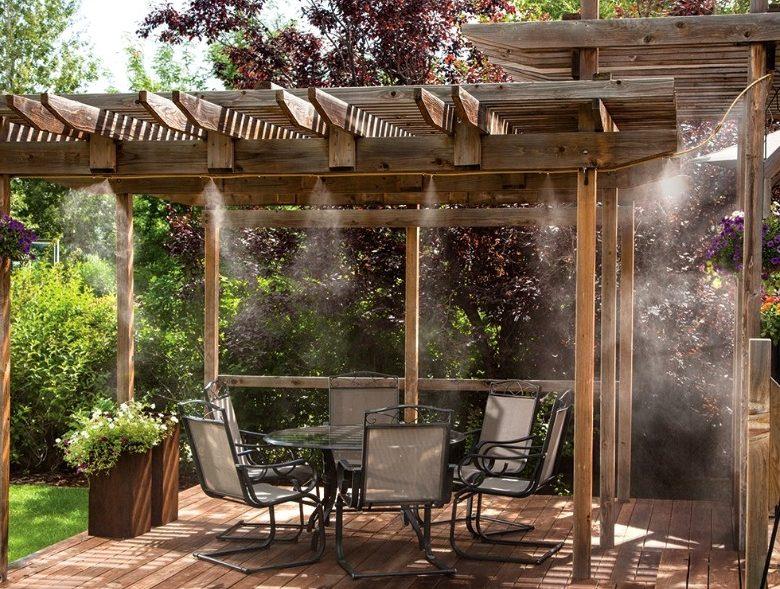 Installer un brumisateur de jardin et de terrasse